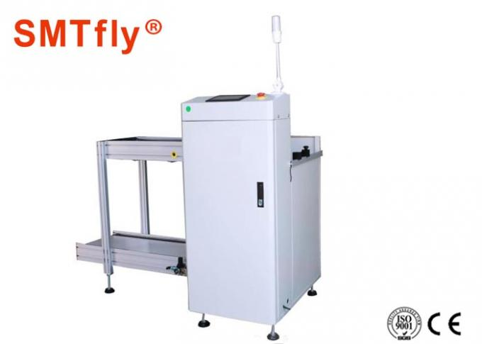 Fully Automated SMT Smt Magazine Loader , White PCB Destacker 350*250mm
