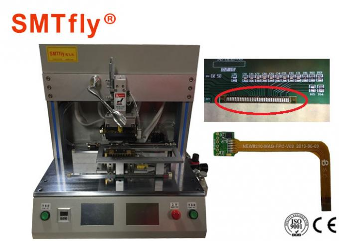 110*150mm LED PCB Hot Bar Soldering Machine With CE/ISO Approved SMTfly-PP1S