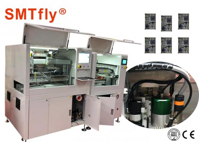 Fully Automatic PCB Depaneling Router Machine  For Tab - Routed PCBA Depaneling