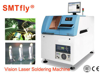 China 300*300 Automatic Pcb Soldering Machine Laser Welding System 0.3mm Spot Size supplier