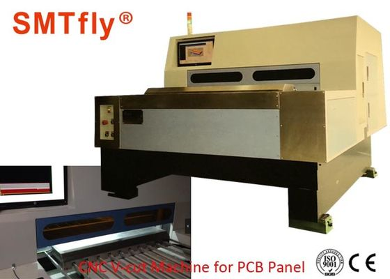China 3.0KW PCB V Groove Cutting Machine , 220V Cnc V Grooving Machine TBI/THK Screw supplier
