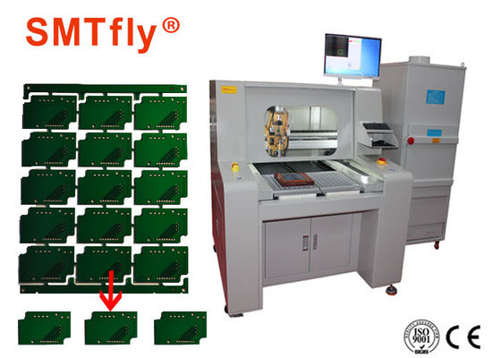 China 80mm/s PCB Depaneling Router Equipment , Aluminum PCB router Machine SMTfly-F04 supplier