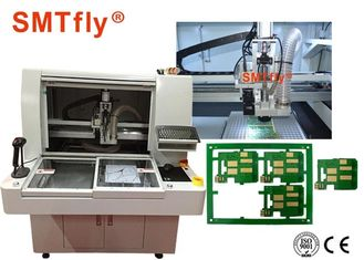 China High Cutting Accuracy PCB Depaneling Router Machine 320*320mm Panel Size supplier