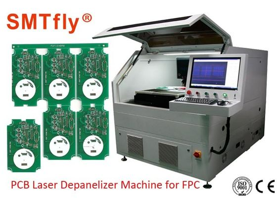 China Customizable FPC / PCB Laser Depaneling Machine , PCB Laser Cutting Machine SMTfly-5S supplier