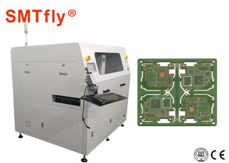 China Inline Cnc PCB Router Machine , PCB Laser Cutter Double Workbench SMTfly-F06 supplier