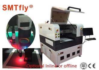 China Auto 355nm UV Laser Cutting Machine , PCB Depaneling Equipment White Color supplier