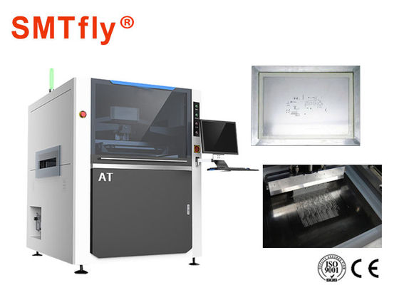 China Professional Solder Paste Printing Machine For Printed Circuit Board Stencils SMTfly-AT supplier
