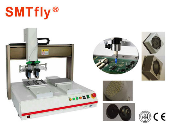 China Double Table Work SMT Solder Paste Dispenser Machine,Glue Dispensing Systems SMTfly-322 supplier