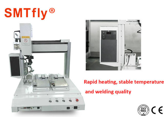 China Double Faced Robotic Soldering Machine With Point To Point Soldering supplier