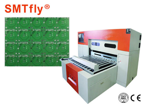 China Fully Automatic V Scoring Machine , PCB Processing Equipment 1500kg SMTfly-YB1200 supplier