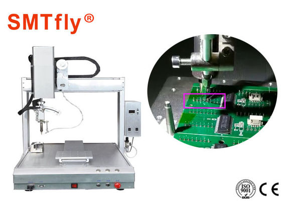 China 0.02mm Precision PCB Robotic Soldering Machine For Welding Circuit Board SMTfly-411 supplier