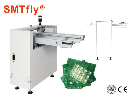 China Portable Flexible Conveyor‎ PCB Loader Unloader with Transmission Height 900±20mm SMTfly-CR6004 supplier