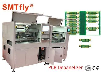 China 1.5KW PCB Separator Machine CCD Vision - Online PCB Boards Separation SMTfly-F05 Durable supplier