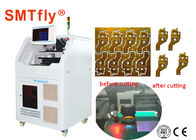 Good Quality Laser PCB Depaneling Machine & 15W Automatic Laser PCB Depaneling Machine With FPC Laser Cutting 300*300mm SMTfly-6 on sale
