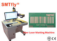 China Industrial Laser Marking Equipment , High Efficiency Pcb Laser Etching Machine SMTfly-DB2A factory