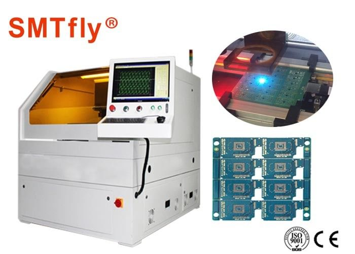 600*450mm FPC Laser Cutting PCB Depanelizer Machine ±1μM Repetition
