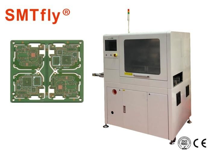 0 1mm Precision Position Inline PCB Router Machine For