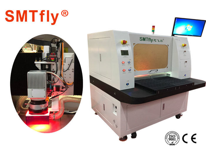 20μM CNC PCB UV Laser Cutting Machine SMTfly-LJ330 With 10W UV-PCB