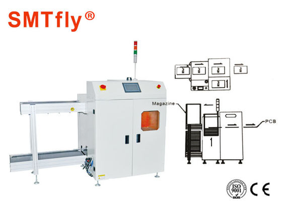 China Min Thickness 0.4mm PCB Loader Unloader With PLC Control System SMTfly-250XS factory