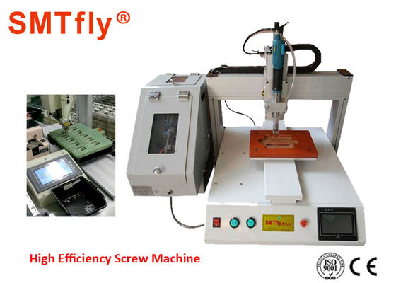 Fully Automatic Screw Tightening Machine For Elastic Parts Electricity Power Source