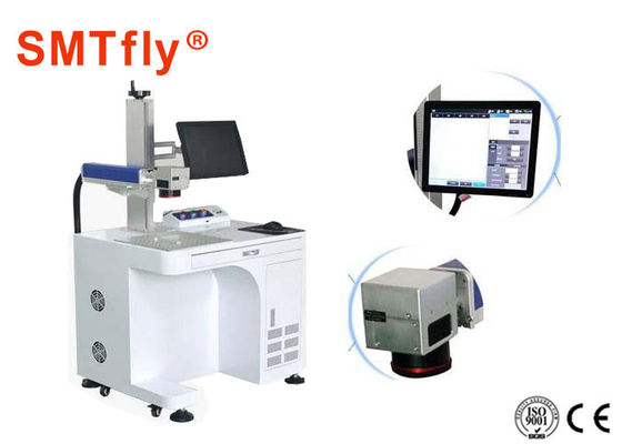 High Precision CO2 Laser Marking Machine , PCB Marking System SMTfly-DB6A
