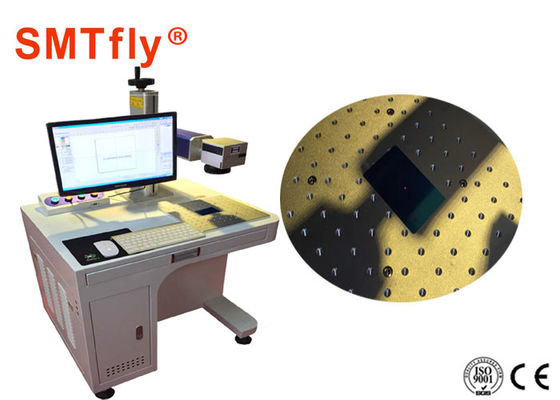 Customized PCB Laser Marking Machine For Metals / Non Metals 110V SMTfly-DB2A
