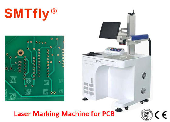 10w 20w 30w Portable Laser Marking Machine , PCB Laser Labeling Machine No Restriction