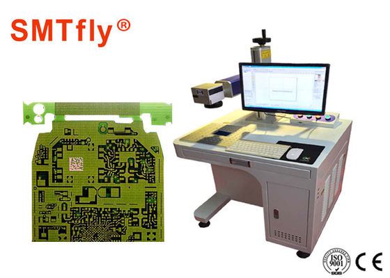 Reliable 20w Fiber Laser Marking Machine Pcb Laser Printer With Air Cooling,SMTfly-DB2A