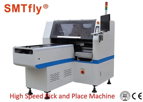 High Speed PCB Pick And Place Machine 0.02mm Mounting Precision 0.5Mpa Air Force