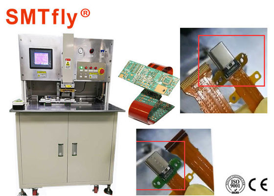 FPC To PCB Hot Bar Soldering Machine With Double - Desk Working Mode