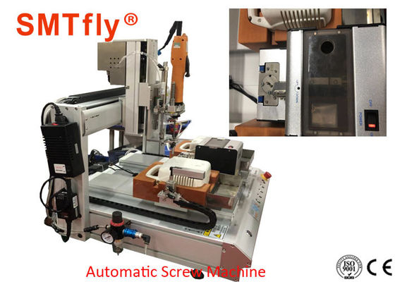 Customize 4 Axis Output 0.02MM Automatic Screw Driving Machine For PCB Panels
